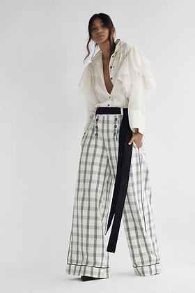 Sailor Trousers in Recycled Cotton
