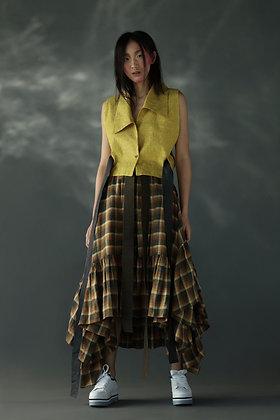 Long Frill Skirt