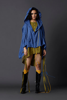 Hooded Deconstructed Top