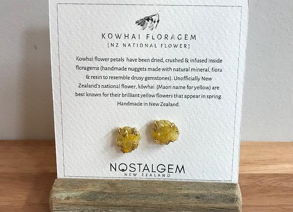 Kowhai Floragem Earrings