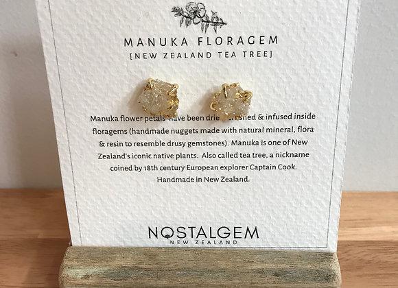 Manuka Floragem Earrings