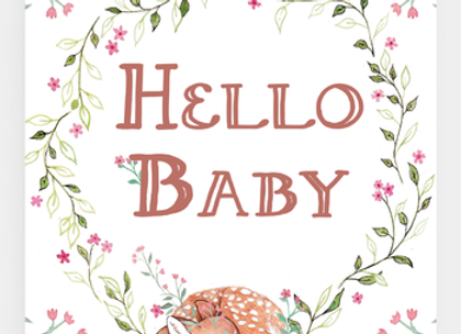 Baby's Arrival Card
