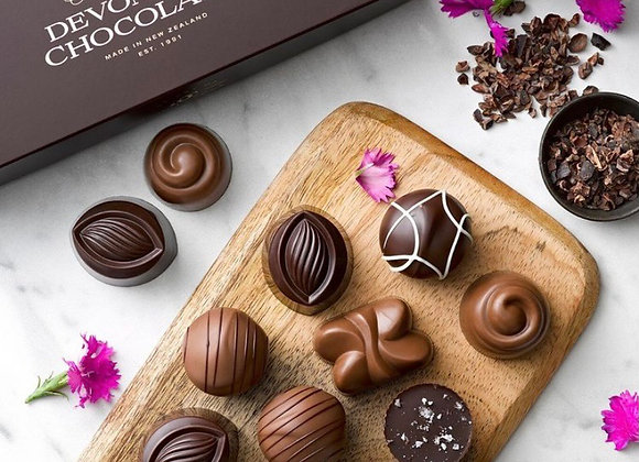 Devonport Chocolates - the chocolate selection