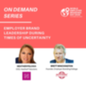 Employer brand leadership during times o