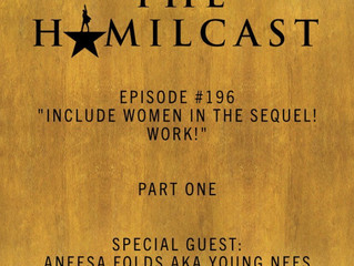 My first episode of #thehamilcast is out! (click on picture)