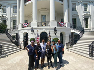 Performing at the WHITE HOUSE!