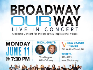 BROADWAY INSPIRATIONAL VOICES!