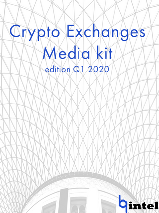 Crypto Exchanges in Q1 2020