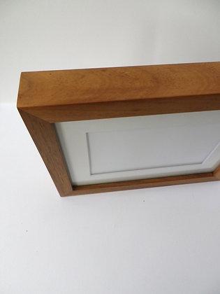 "FRAMED Blackwood kit frame specially designed for 5x7"" photo"