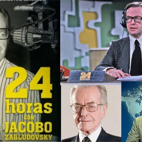 Martha Venegas para 24 horas, homenaje a Jacobo Zabludovsky