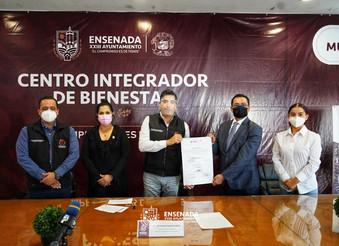 Firman convenio con el patronado del Estadio Municipal de Ensenada