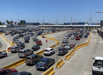 Descarta Ebrard cierre total de frontera con Estados Unidos, por aumento de casos de COVID