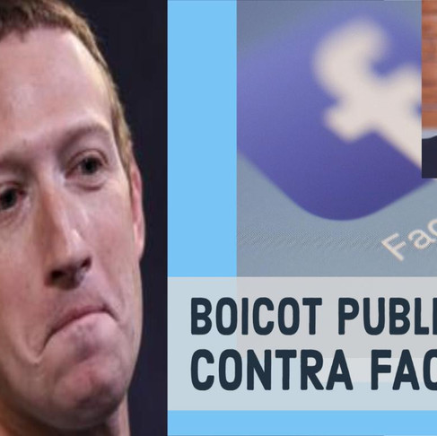 Escándalo y boicot contra Facebook