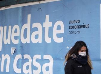 Argentina rebasa el millón de contagios de Covid-19 en medio de una crisis económica