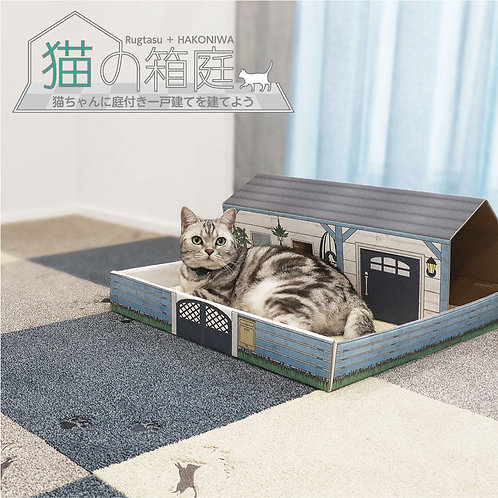 猫の箱庭 Rugtasuタイルラグ