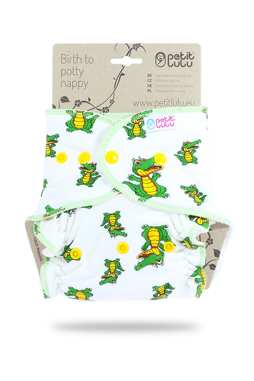 Croco - One Size Nappy (Snaps)