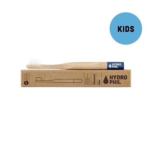 Escova de Dentes de Bambu para crianças (Cerdas suaves)