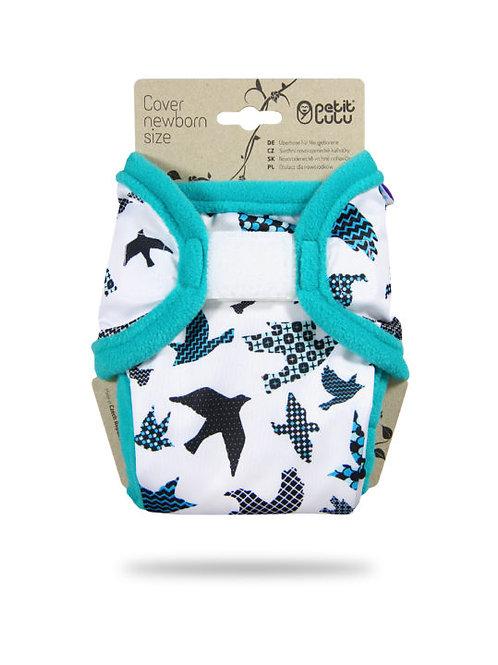 Turquoise Birds - Newborn Cover