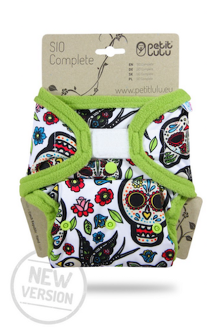 Mexican Skulls (no branco) - SIO Complete Nova Versão (velcro)