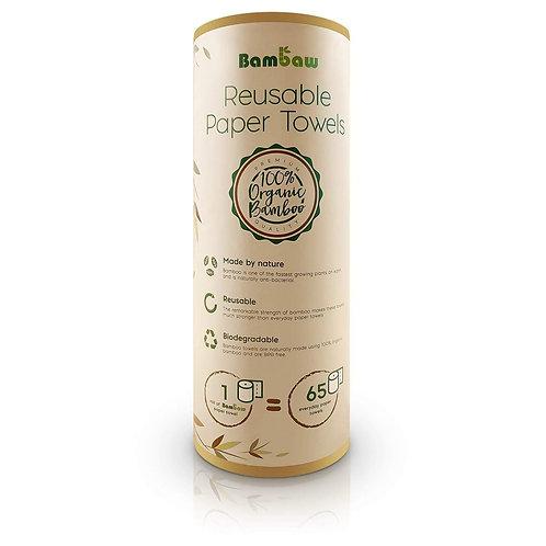 Toalhitas de Bambu Reutilizáveis