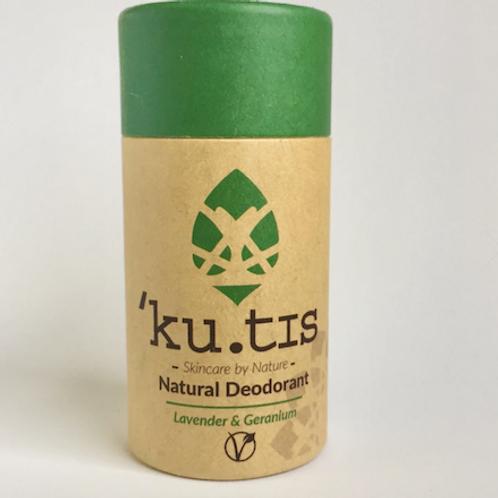 Desodorizante Vegan Kutis - Lavanda & Gerânio