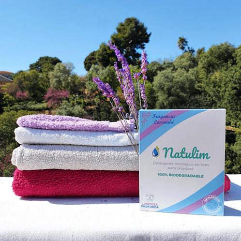Detergente da roupa em tiras ecológico - Lavanda