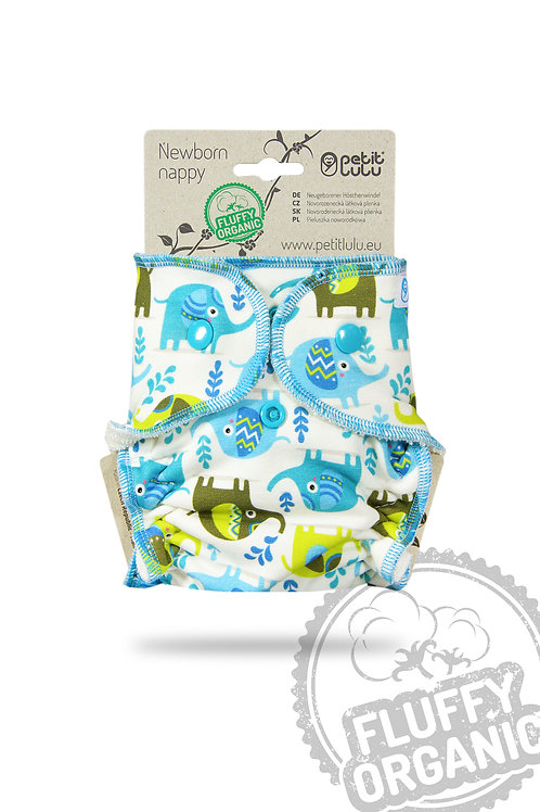 Little Elephants - Ajustada de Recém-nascido