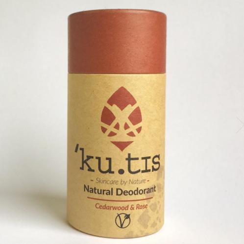 Desodorizante Vegan Kutis - Cedro & Rosa