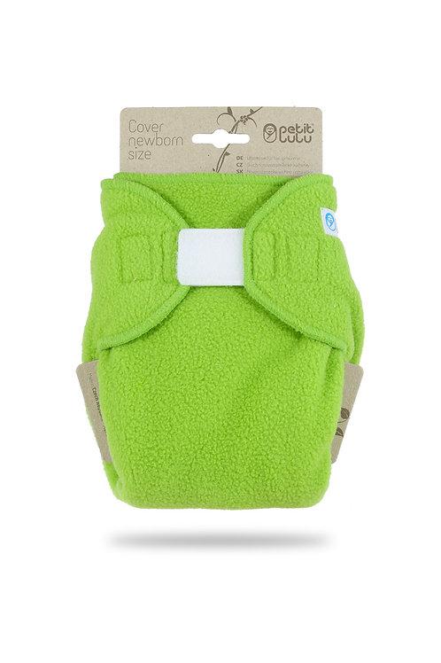 Green Fleece - Newborn Cover
