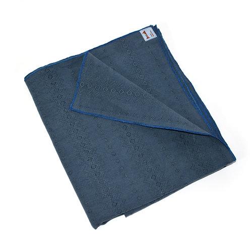 Kleine Tischdecke blau-grau
