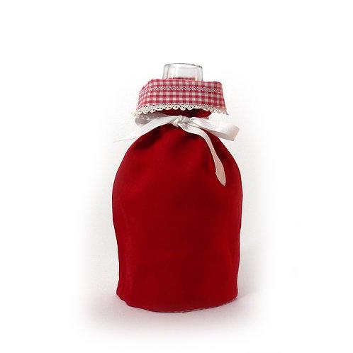 Wende-Blumenvase rot