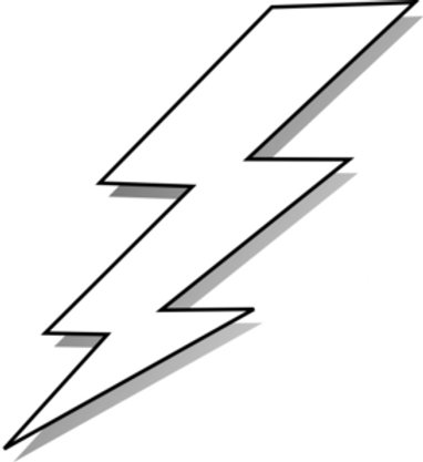 ( lightning bolt )