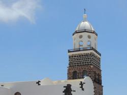Teguise Cathderal, Lanzarote, Spain