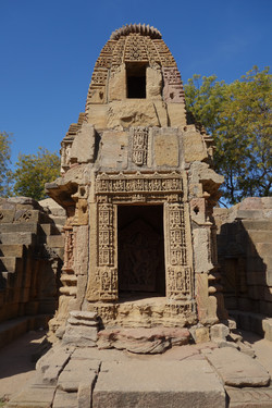 Temple door, India