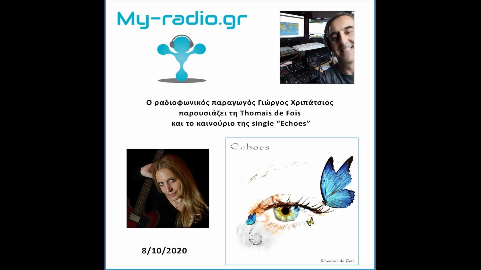 Thomais de Fois-Echoes on My-radio.gr.jp