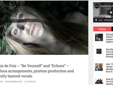 "Presentation on ""Soundlooks"" International Music Magazine"
