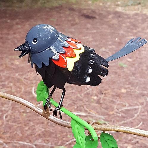 BRANCH: Red-winged Blackbird
