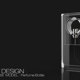 LUCA BOSSI Perfume Bottle
