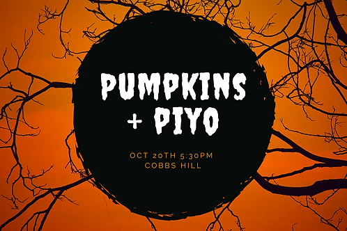 Pumpkins+ PiYo at the Park