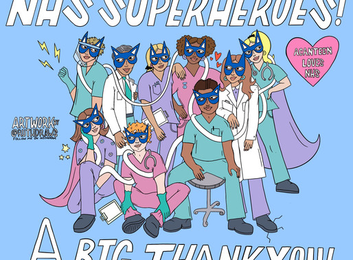 NHS SUPERHEROES @ ACANTEEN CHELMSFORD.