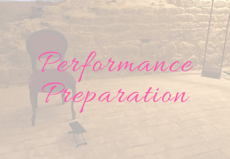 Performance Preparation
