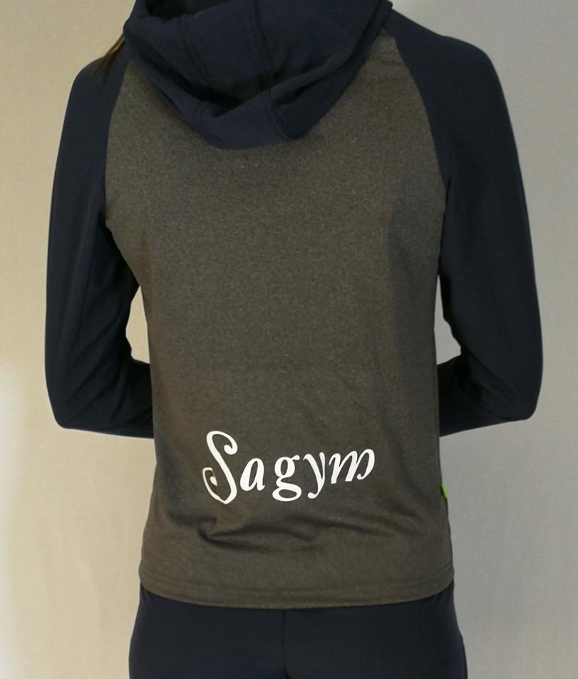 Veste sportive Sagym - Dos / Sagym sport tracksuit jacket - Back