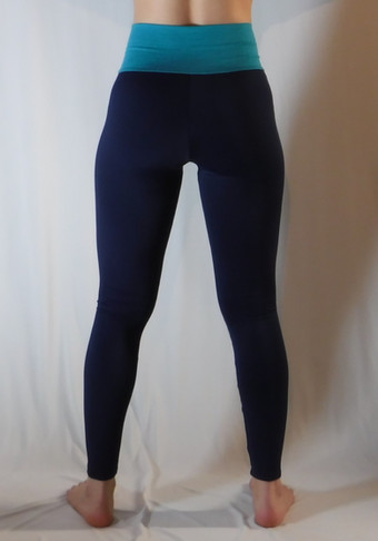 Leggings polaire 2 tons - Dos / Polar leggings 2 colors - Back