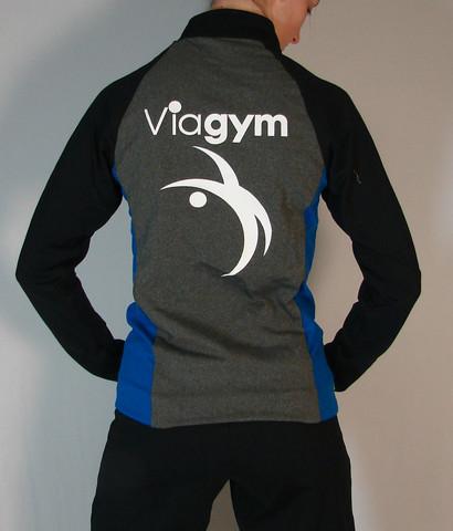 Veste sportive Viagym 3 tons - Dos / Viagym sport tracksuit jacket 3 tons - Back