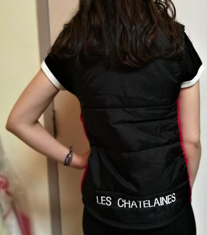 Doudoune sportive Les Châtelaines - Dos / Les Châtelaines puffy sport jacket - Back