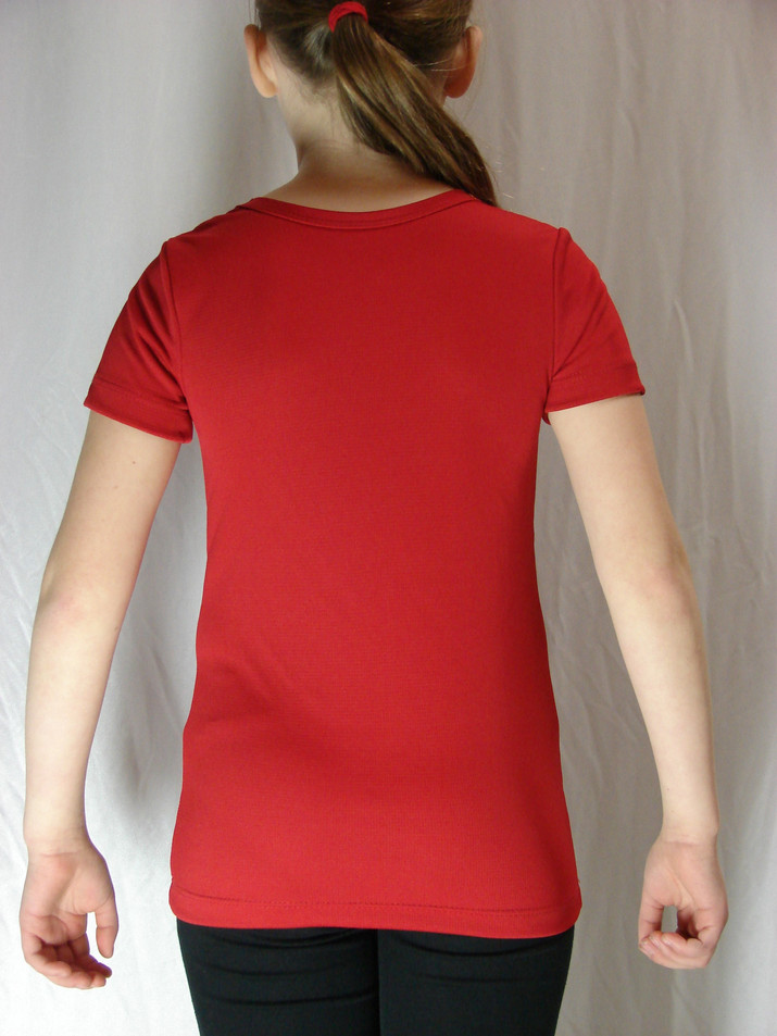 T-shirt sportif Olympium - Dos / Olympium sport t-shirt - Back