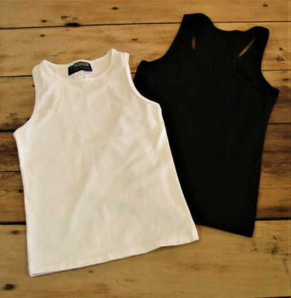 Camisoles sportives - Devant / Sport tank tops - Front