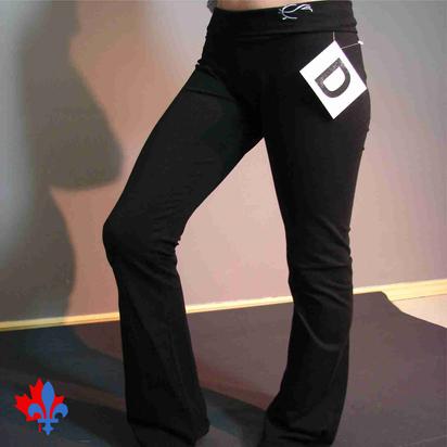 Pantalon yoga - Côté / Yoga pants - Side
