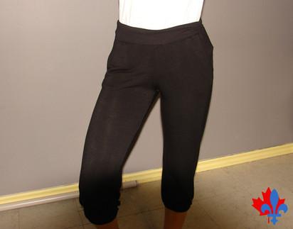 Pantalon ceinture large - Devant / Loose pants - Front