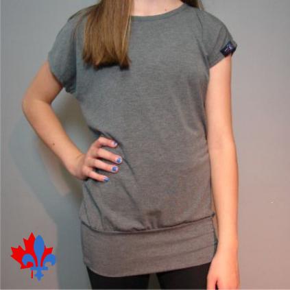 T-shirt ample avec ceinture - Devant / Loose t-shirt - Front